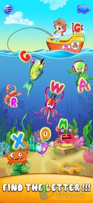 儿童ABC幼儿游戏ios版 - 截图1
