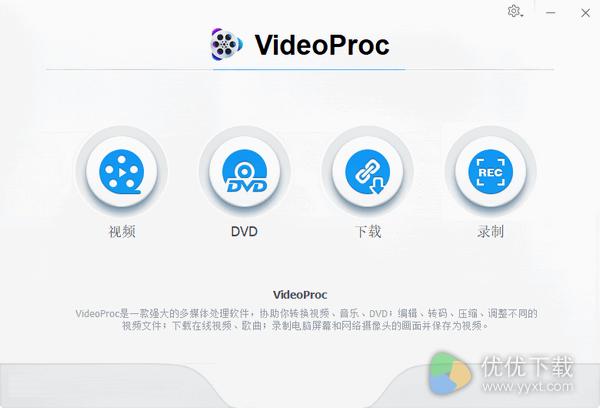 VideoProc官方版 V4.0