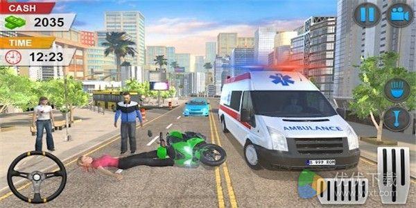 救护车驾驶救援模拟器安卓版 V1.1.2
