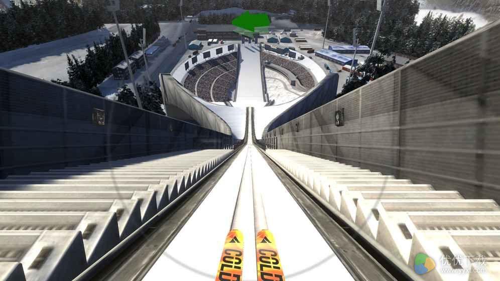 冬季运动跳台滑雪模拟ios版 V1.4.7