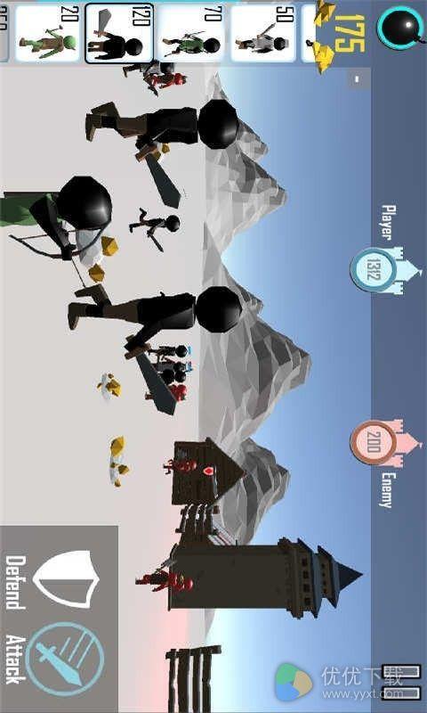 火柴人战争3D安卓版 V1.07
