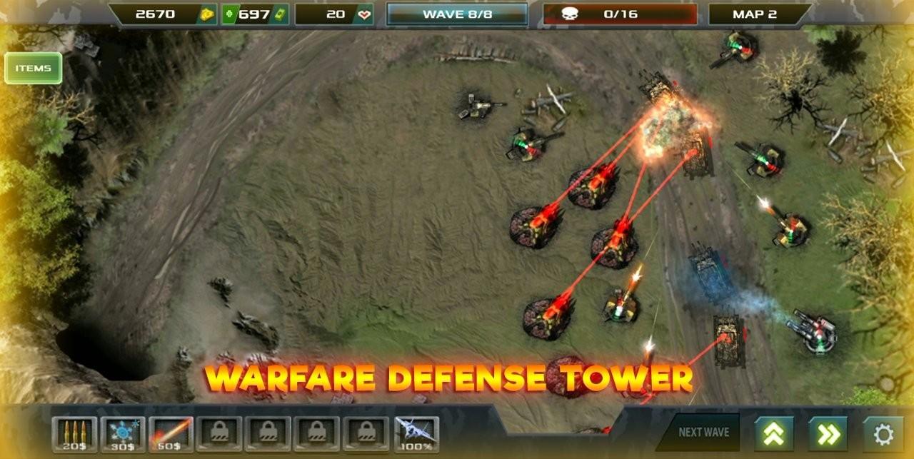 塔防无限战争安卓版 V0.1.4