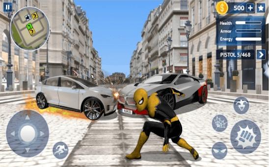 飞天蜘蛛绳索英雄安卓版 V1.0.12