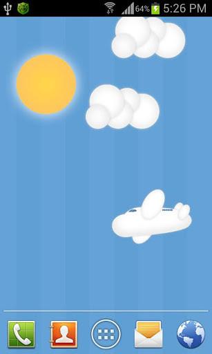 蓝天白云动态壁纸安卓版 V1.0.3