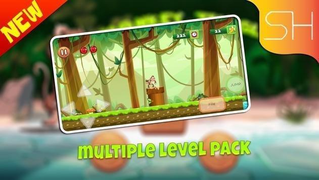 猴子森林探险安卓版 V2.1.82