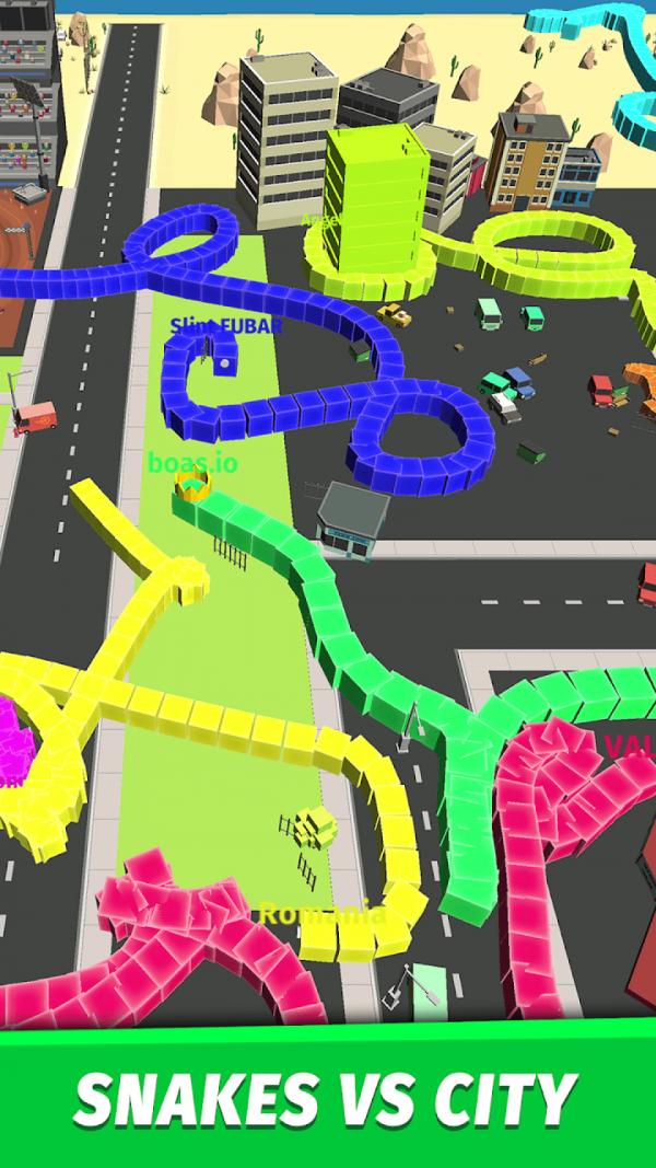 贪吃蛇大战城市安卓版 V1.8.0