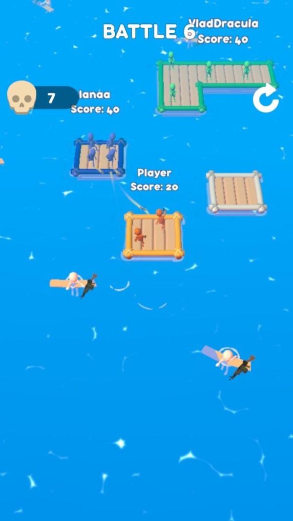 木筏大作战安卓版 V1.0
