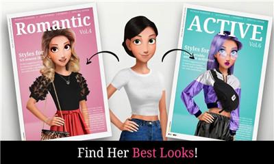 时尚妆容和时装设计手游app截图