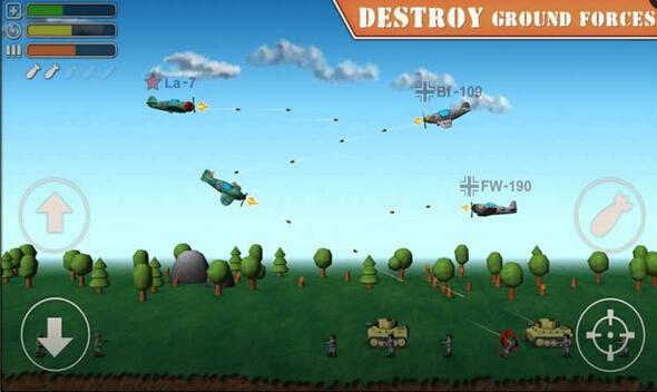 天空之王2(火爆空战) for Android安卓版 - 截图1