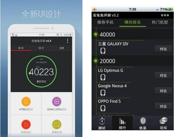 安兔兔评测(手机跑分) V5.6.1 for Android安卓版 - 截图1