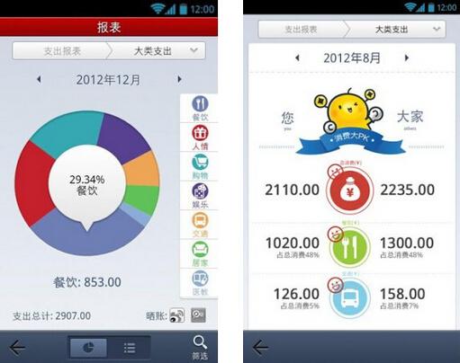 挖财(记账理财) V9.8.7.1 for Android安卓版 - 截图1