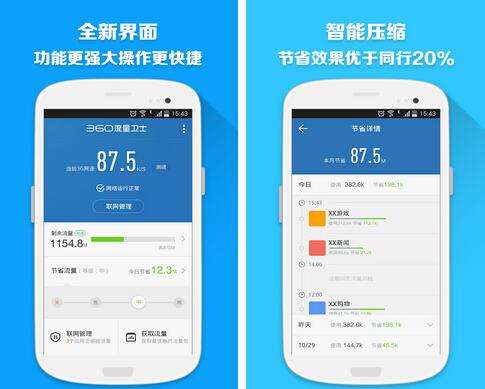 360流量卫士(流量助手)V1.2.0 for Android安卓版 - 截图1