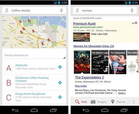 Google搜索(网络搜索) v4.4.10 for Android安卓版 - 截图1