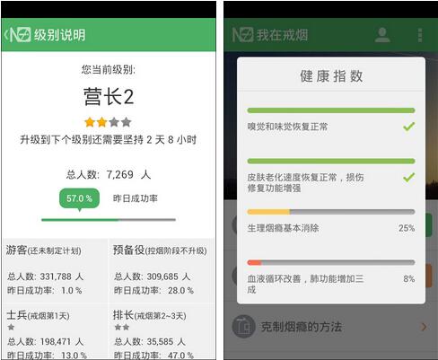 戒烟军团(健康医疗) v3.05 for Android安卓版 - 截图1