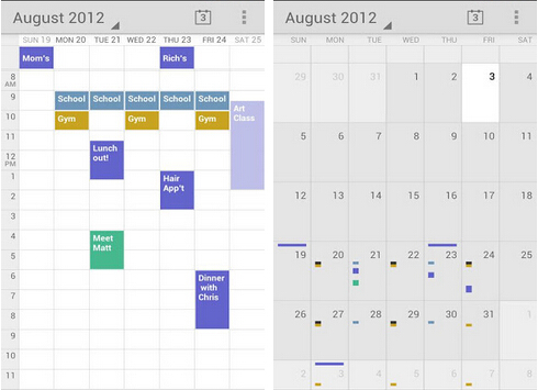 Google日历(生活休闲) v5.2 for Android安卓版 - 截图1