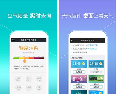 2345天气王(生活休闲) v4.7 for Android安卓版 - 截图1