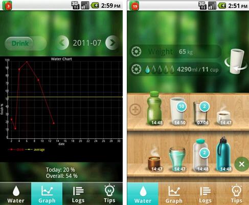 喝水宝(健康医疗) v3.077 for Android安卓版 - 截图1