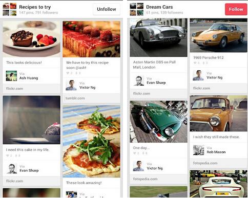 Pinterest(通讯社交) v4.6.1 for Android安卓版 - 截图1