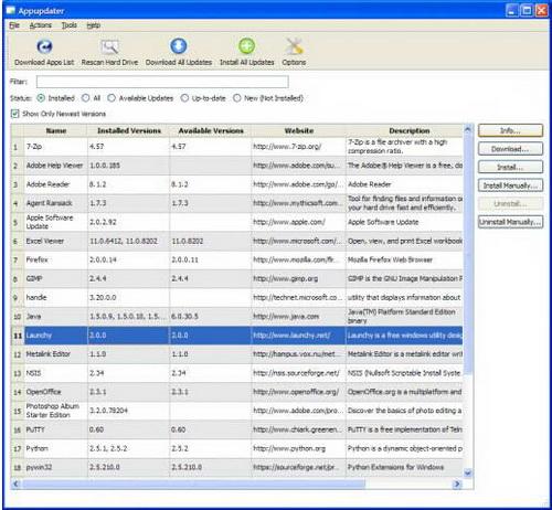 Appupdater 2.2(更新工具) - 截图1