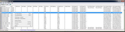OutlookStatView 1.91(邮箱扫描) - 截图1