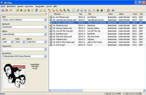 Mp3tag 2.70(音乐管理) - 截图1