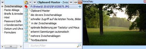 Clipboard Master 3.10.0(剪切板管理) - 截图1
