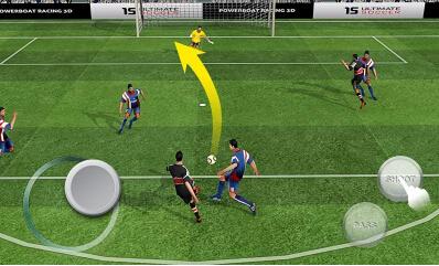 终极足球(足球竞技) v1.0.3 for Android安卓版 - 截图1