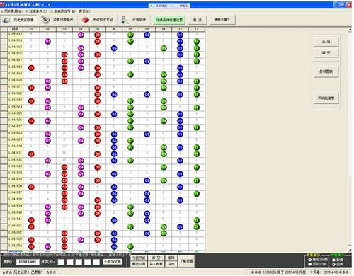 11选5过滤缩水大师 4.2 Build 0511(彩票过滤缩水高手) - 截图1