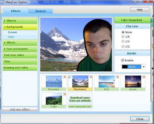 ManyCam 4.1.2(网络摄像头) - 截图1