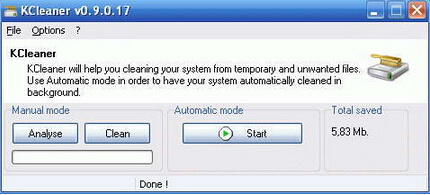 KCleaner 2.5.0.59(系统清理专家) - 截图1