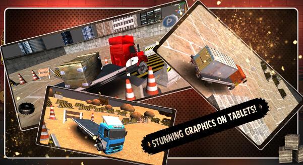 载重卡车3D(运货停车) v2.0 for Android安卓版 - 截图1