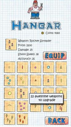 涂鸦飞机大战(高空射击) v2.1 for Android安卓版 - 截图1