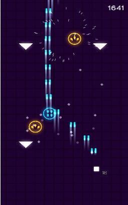 银河飞船射击(几何飞船) v1.52 for Android安卓版 - 截图1