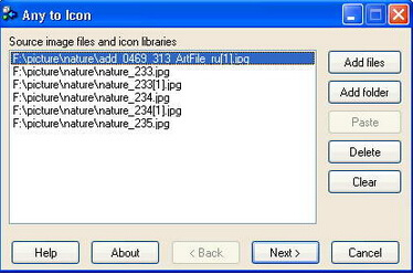 Any to Icon 3.54(图像转换器) - 截图1