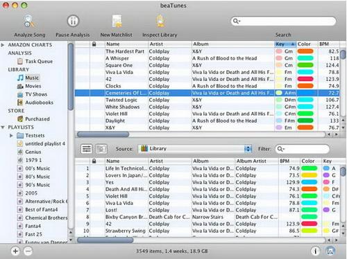 beaTunes(64bit) 4.0.23(音乐收藏管理) - 截图1