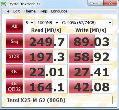 CrystalDiskMark 4.0.3a(存储设备检测工具) - 截图1