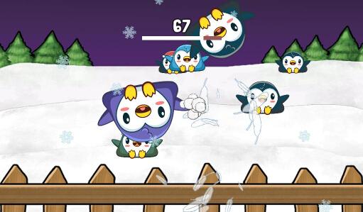 企鹅打雪仗(冬日雪仗) v1.71 for Android安卓版 - 截图1