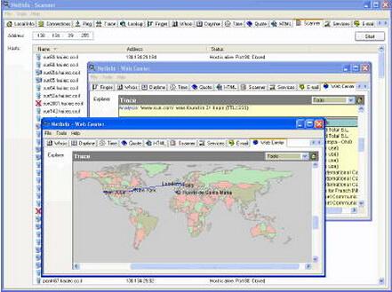 NetInfo 8.8 Build 525(网络监测软件) - 截图1