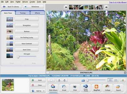 Picasa 3.9.139(相片整理、编辑大师) - 截图1
