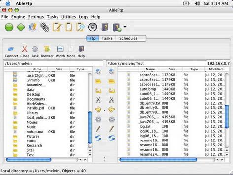 AbleFtp 11.03(ftp客户端程序) - 截图1