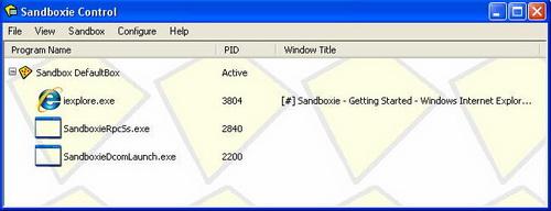 Sandboxie 4.18(沙盘工具) - 截图1