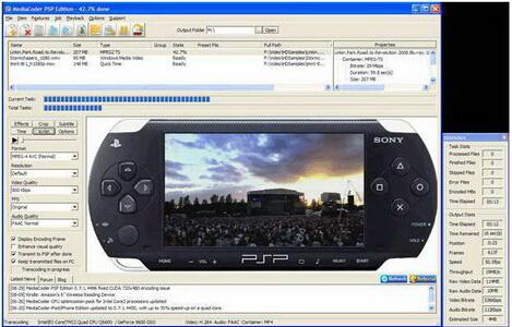 MediaCoder PSP (x64) 0.8.35.5730(视频编码器) - 截图1