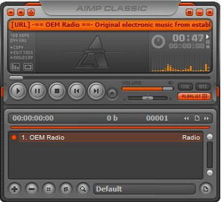 AIMP 3.60.1495(音频播放器) - 截图1