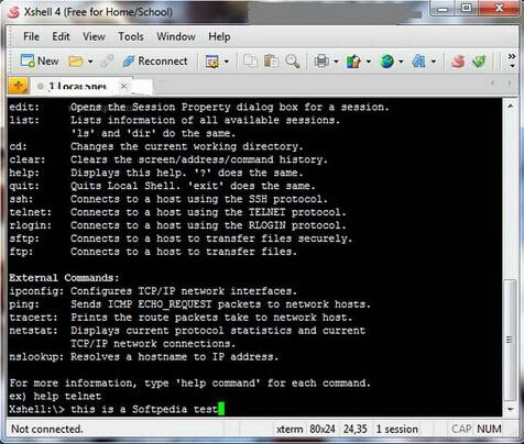 Xshell 5.0 Build 0655(终端模拟软件) - 截图1