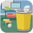 比赛扔纸团for iPhone苹果版6.0(休闲娱乐)