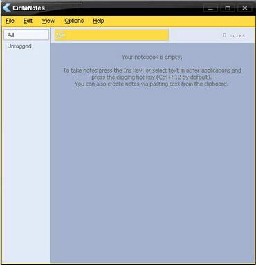 CintaNotes 2.9(笔记软件) - 截图1