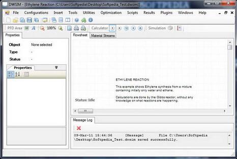 DWSIM 3.4 Build 5644(化工过程模拟器) - 截图1