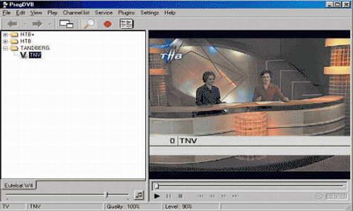 ProgDVB (x32) 7.09.4(卫星电视接收软件) - 截图1