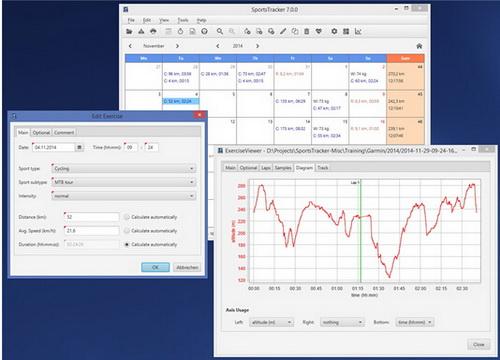 SportsTracker 7.1.0(运动训练软件) - 截图1