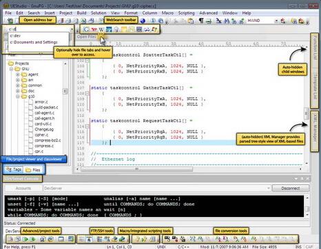 UEStudio 15.20.0.6(文本编辑软件) - 截图1